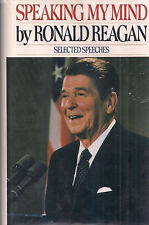 "President RONALD REAGAN ""Speaking My Mind"" SIGNED 1st Printing of FIRST EDITION"