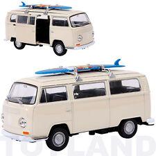 VW CAMPER VAN PULL BACK MODEL TOY CAR V DUB SPLIT GIFT PRESENT DADS SECRET SANTA