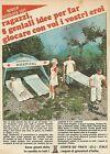 X7664 Field Hospital - LMP - Corte dè Frati - Pubblicità del 1977 - Advertising