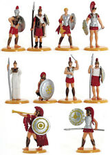 Timpo / Toyway 10 Greek Toy Soldiers - 54mm painted plastic 1990s - mint on card
