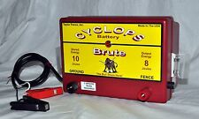 Cyclops Brute Battery Powered | 8 Joule Electric Fence Charger Energizer Fencer