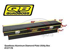 Quadboss Utility Cargo Bed Storage Box Polaris Ranger XP 900 1000 570 Diesel