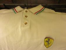 1998 TEAM FERRARI Embroidered Logo Polo Shirt XXL By Nice Man FORMULA 1