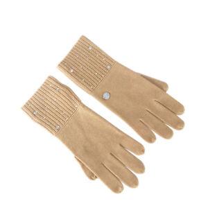 Escada Sport Designer Made With Swarovski Crystals Gloves