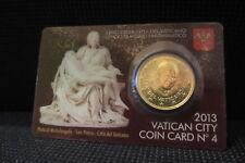 Vaticano COIN CARD 2013 50 CENT