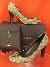 5e19be0b5d9 Gucci Women s Canvas Heels for sale