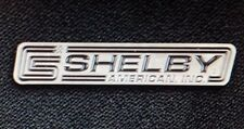 Shelby American Inc. CS Race Track Logo Rectangle Hat/ Lapel Pin Ford Mustang