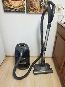 Kenmore Progressive 116 TRUE HEPA Canister Vacuum Whisper Belt Clear Gray Grey