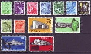 Nigeria 1961 SC 101-113 MH Set