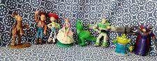 RARO Lotto 8 personaggi action figure Toy Story Disney Pixar mini da collezione