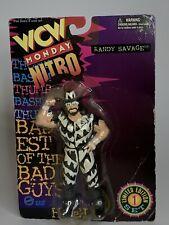 WCW Toymakers 1997 Monday Nitro Macho Man Randy Savage Heels Wrestling Figure