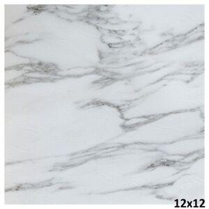 Vinyl Floor Tiles Self Adhesive Peel And Stick White Basement Kitchen Flooring