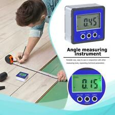 Digital Inclinometer Spirit Level Box Angle Finder for Gradiometer Meter Bevel
