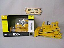 Ertl John Deere 850K Dozer & Ertl Cat D10N Crawler Dozer USED - FLC 28,42