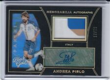2016/17 Black Gold Andrea Pirlo Auto Patch Holo 3col /25 SP Italy Milan Juventus