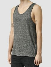 "AllSaints ""Faxley Vest"" Tank Top - Charcoal - Linen - All Saints - Size Medium"