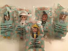 Madame Alexander 5 McDonald's Dolls Wendy Jasmine Cruelly De Vil Mickey Mouse