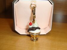 NEW JUICY COUTURE ICE CREAM SUNDAE CHARM FOR BRACELET/NECKLACE