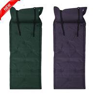 Outdoor Camping Self-Inflating Air Mat Mattress Pad Pillow Hiking Sleeping Bed M