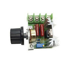 220V 2000W Speed Controller SCR Voltage Regulator Motor Dimmers Thermostat