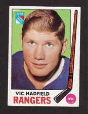 Vic Hadfield New York Rangers 1969-70 Topps Hockey Card #38 EX/MT