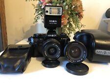 Minolta X300s Camera + 2 minolta lense 35-70mm md 28mm f2.8
