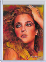 Drew Barrymore Authentic Artist Signed Limited Edition Print Card 50 of 50