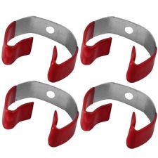 4 PC CLIP GRIP HANDLE HOLDERS ANTI SLIP VINYL COATED CLIPGRIP HANDLE SET