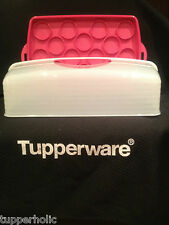 Tupperware B2B Rectangular Cake Taker - Pink - BRAND NEW