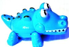 Fun 1.5� Wind up Blue Gator Toy