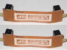 2x extra lange 9cm ATI CrossFire Bridge Brücke flex Cross Fire NEU OVP 2 Stück