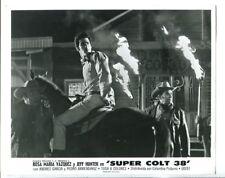 Super Colt 38-Jeffrey Hunter-8x10-B&W-Still