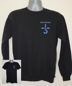 Blue oyster cult t-shirt / sweatshirt - deep purple thin lizzy hawkwind