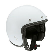 AGV RP60 Mono Open-Face Retro-style Helmet (White) M (Medium)