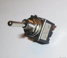 Mini Miniatur Einbauschalter Geräte Netz Schalter klein Kippschalter 2 Pol 230V