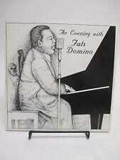 "RARE ""An Evening With Fats Domino"" 2-LP Set / Media Music 1984 MM-31684 Vinyl"