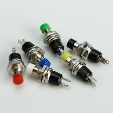 1x New Momentary Push Button Switch 7mm Press 6 Colors To Choose From