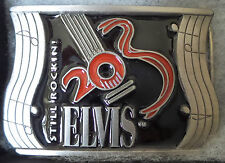 """ELVIS : ELVIS PRESLEY BELT BUCKLE.  """"STILL ROCKIN IT"""". (TK)"""