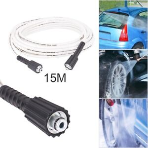 15m M22 Female to M22 Female Pressure Washer Hose Jet Power Wash Extension