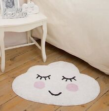 Sweet Dreams Smiling Cloud Rug For Nursery, Bedroom or Bathroom