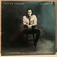 "JULIAN LENNON - Valotte - 12"" Vinyl Record LP - EX"