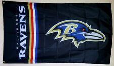 Baltimore Ravens Banner 3x5 Ft Flag Man Cave Decor Gift Football NFL Sports