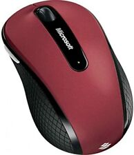 Microsoft WIRELESS MOBILE MOUSE 4000 RED