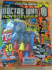 Doctor Who Adventures Magazine ISSUE # 325 JULY 2013 FREE  DALEK & CYBERMEN ARMY