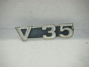 original Logo Seitendeckel Schriftzug Emblem side pannel MOTO GUZZI V35