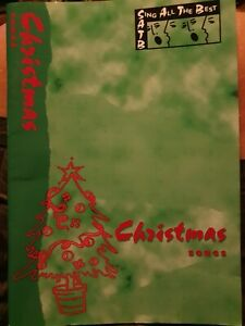 Christmas Songs choral collections - Sheet Music