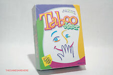 Taboo Junior Jr Board Game Parker Brothers 2001 COMPLETE (read description)