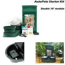 AutoPot Hydrotrays 2 Pot Double Auto Feed Hydroponics or Soil Plant  Fruit Grow