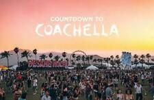 1-8  Coachella 2018 Weekend 2 Tickets -  GA - 3 Day Pass