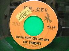 The Uniques Unicques Bossa Nova Cha Cha Cha / Look At Me 1960 45 Mr Cee 100 RARE